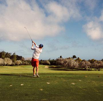 Golfreisen             Abschlag rund um den Globus