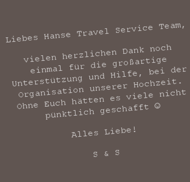 Liebesgeschichte S & S                     Großes Danke :-)